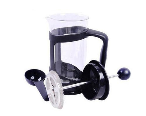 350 ml Stainless Steel French Press Coffee and Tea Maker - Black