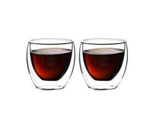 Double Walled Coffee Glasses