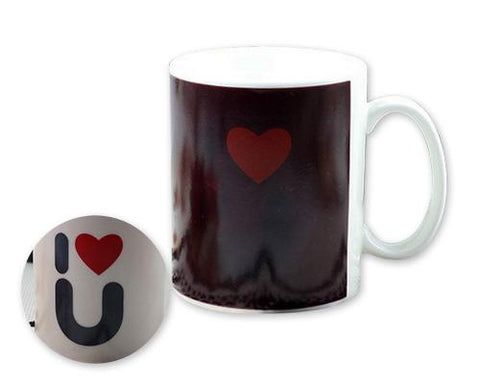 Tell You I Love You Color Changing Couple Coffee Mugs
