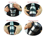Anti Slip Cup Holder with Coaster for 30oz Tumbler