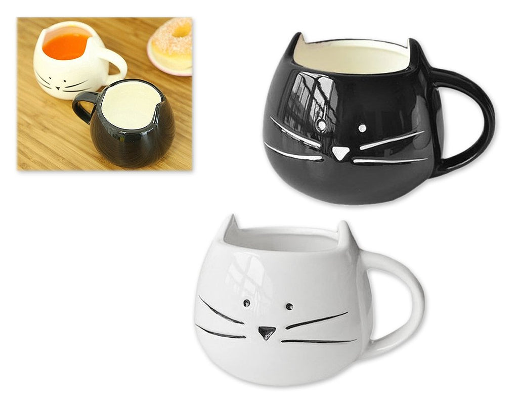 300ml Cat Face Couple Coffee Mug