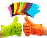 Heat Resistant Silicone Glove for Cooking