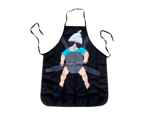 Hangover Baby Printed Kitchen Apron