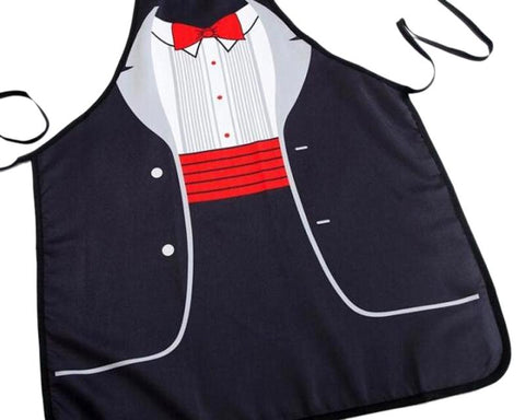 Gentlemen Printed Kitchen Apron