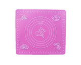 26x29cm Silicone Oven Non-slip Table Hot Pad - Pink