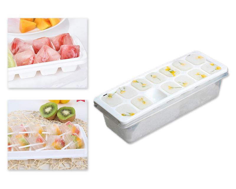 14 Grids Flexible Ice Cube Tray