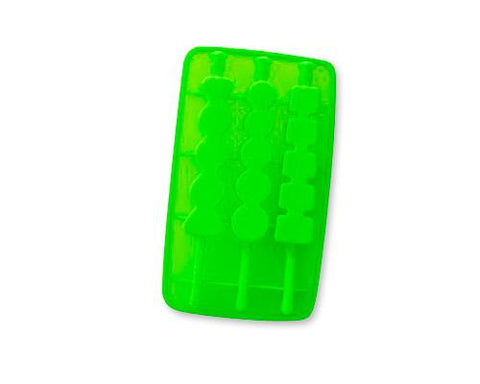 Silicone Multi Shapes Ice Pop Maker - Green
