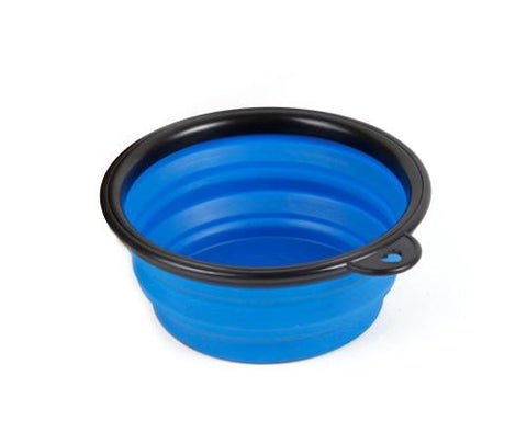 Silicone Collapsible Dog Bowl Pet Water Dish