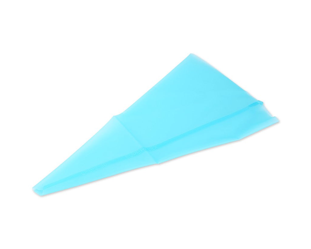 Reusable Silicone Piping Bag for Cake Decoration - Blue