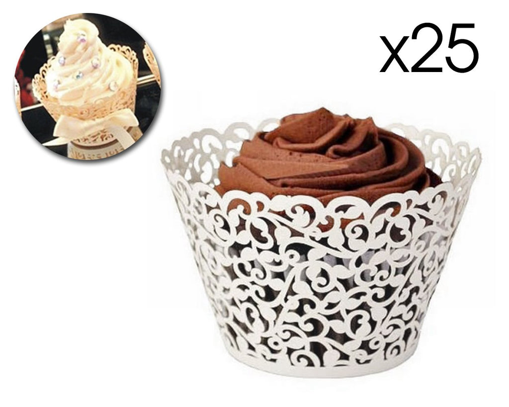 Laser Cut Cupcake Wrappers
