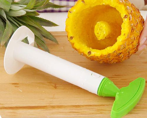 Professional Plastic Pineapple Cutter - Green