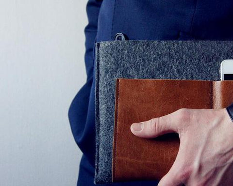 Wool Series MacBook Air Multi-functional Case - Business
