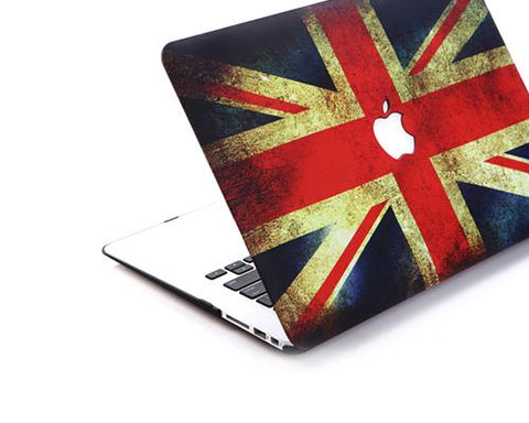 Matt Series MacBook Air Hard Case - England