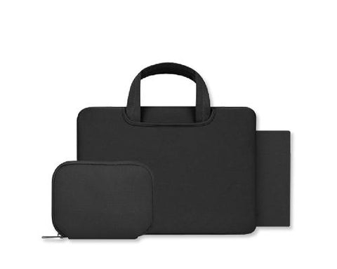 Smooth Series Multi-functional Briefcase - Black