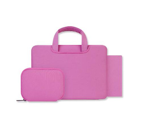 Smooth Series Multi-functional Briefcase - Pink