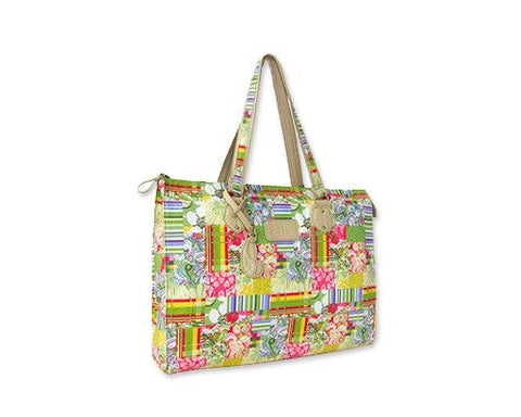 Canvas Series 14-inches Women's Briefcase and Laptop Handbag - Petal