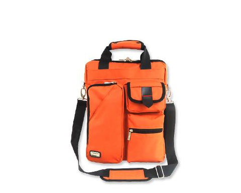 Generous Series Multi-functional Shoulder Bag - Orange