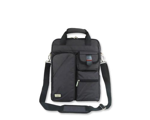 Generous Series 15-inch Laptop Shoulder Bag - Gray