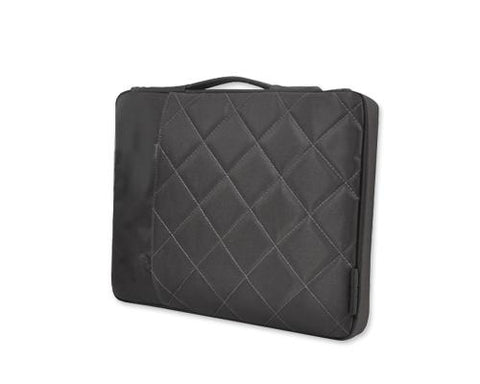Diamond Series MacBook Sleeve Case with Handle - Black