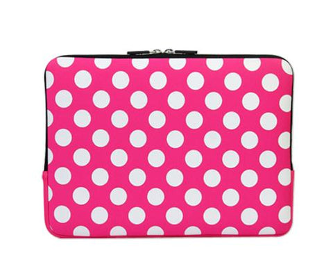 Spot Series MacBook Sleeve Case - Pink