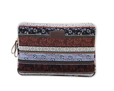Bohemian Series Laptop Case - Brown