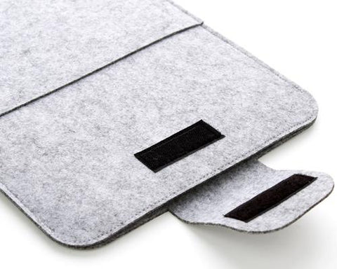 Wool Series MacBook Case - Ninja Gray