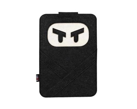 Wool Series MacBook Case - Ninja Black