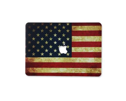 Matt Series MacBook Hard Case - American