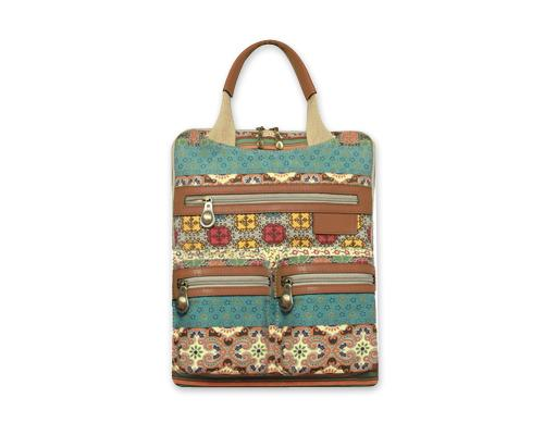 Bohemian Series Women's Laptop Handbag and Backpack