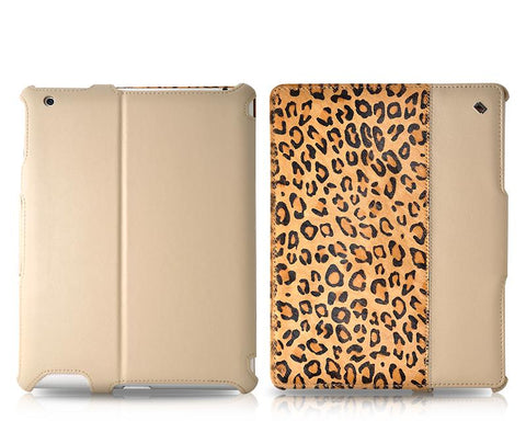 Le nouveau Wild iPad 4 New iPad Flip Leather Case - Leopard Pattern