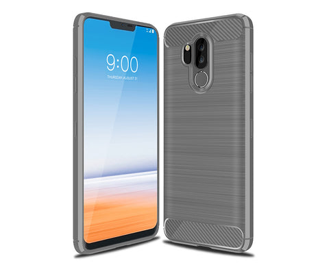 LG G7 TPU Case with Carbon Fiber Design