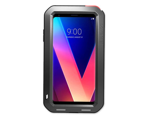 LG V30 Waterproof Case Shockproof Metal Phone Case