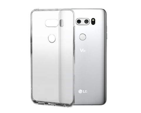 LG V30 Case TPU Clear Hard Case