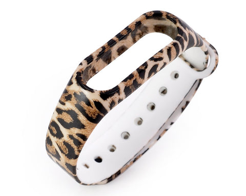 Leopard Series Replacement Band for Xiaomi Mi Band 2 - Yellow