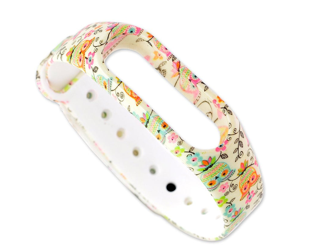 Owl Series Replacement Band for Xiao Mi Band 2 - White