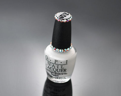 Clear Bling Crystal O.P.I. Nail Polish - My Boyfriend Scales Walls