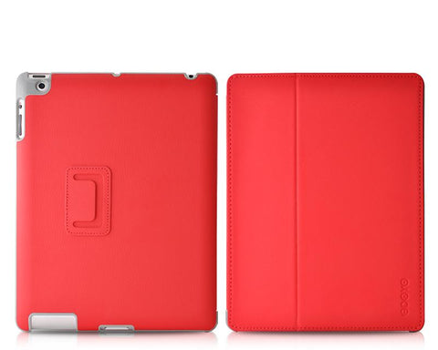 Odoyo AirCoat Series iPad 4 Case - Red