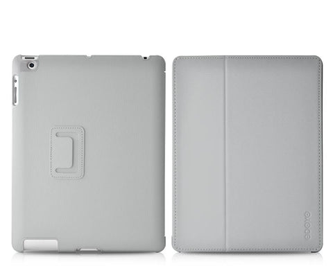 Odoyo AirCoat Series iPad 4 Case - Gray