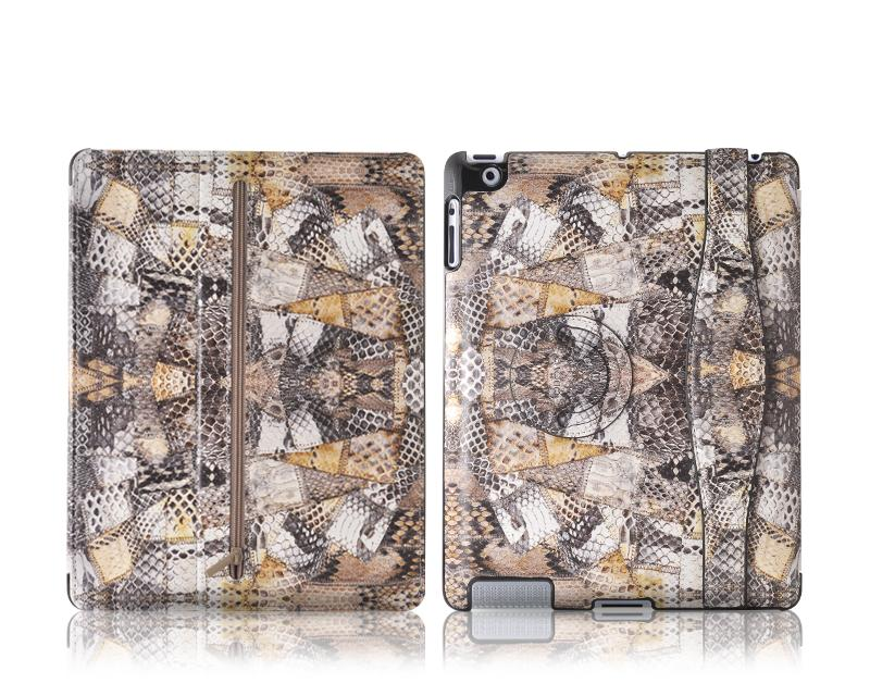 ODOYO x Johanna Ho iPad 4 New iPad Leather Case - Snake Skin