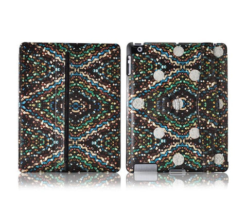 ODOYO x Johanna Ho iPad 4 New iPad Leather Case - Evening Sequin
