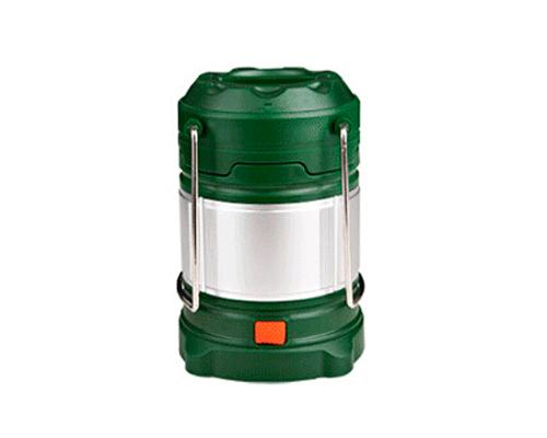 Outdoor Rechargeable LED Camp Lantern - Green