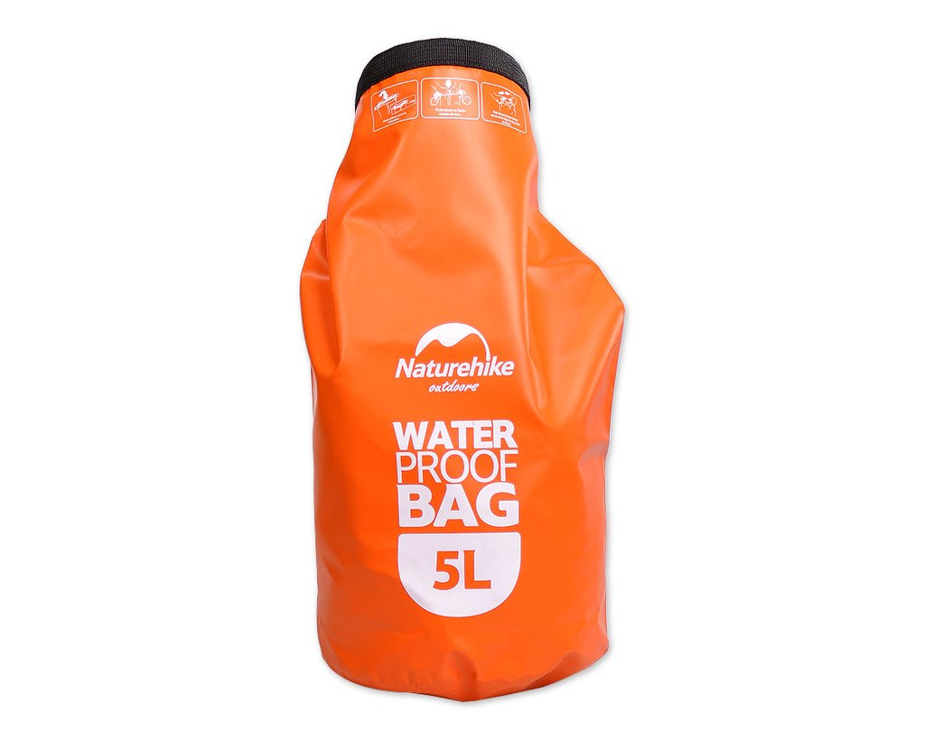 5L Water Resistant Dry Bag - Orange