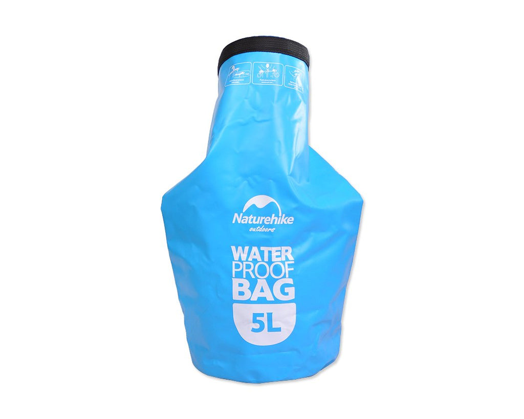 5L Water Resistant Sack Bag - Blue