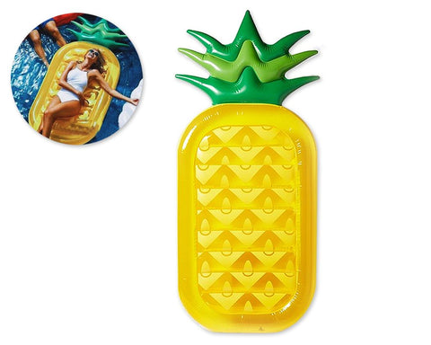 Pineapple Shaped Inflatable Pool Floating Lounger
