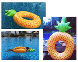 Giant Pineapple Inflatable Pool Float - Yellow