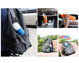500ml Travel Silicone Folding Water Bottle for Outdoor - Grey