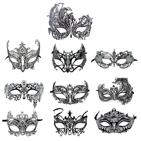 Masquerade Mask Crystal Eye Mask