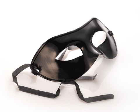 Mardi Gras Masquerade Party Mask Hero Eye Mask - Black