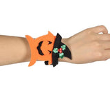 Halloween Party Costumes Slap Bracelet - Pumpkin