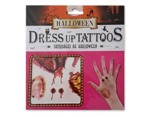 Halloween 2016 Dress Up Temporary Wound Tattoos - Vampire Bite